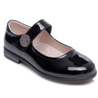 Черные туфли для девочки WeeStep 555654311 BKP (29-33р.)
