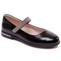 Черные туфли для девочки WeeStep 555954325 BKP (29-33р.)