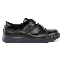 Стильні спортивні шкіряні туфлі для хлопчика Tobi 005-13 (32-39р.)