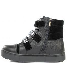 Стильні зимові черевики для хлопчика Tobi 023-07 (33-39р.)
