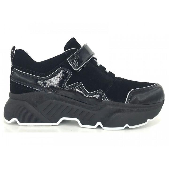 Купити шкіряні кросівки для дівчат Tobi 266-12