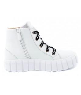 Стильні шкіряні черевики для дівчинки N-Style 078-3 (32-38р.)