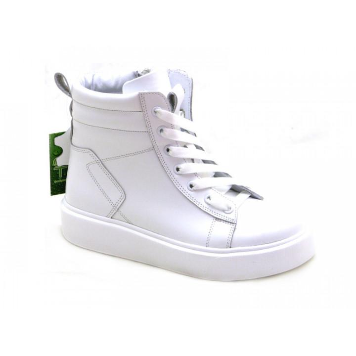 Купити шкіряні демісезонні черевики для дівчат Tobi 289-01