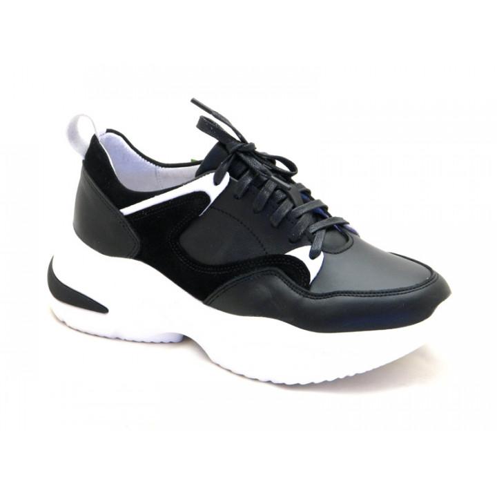 Купить кожаные кроссовки для девочки Tobi 274-02