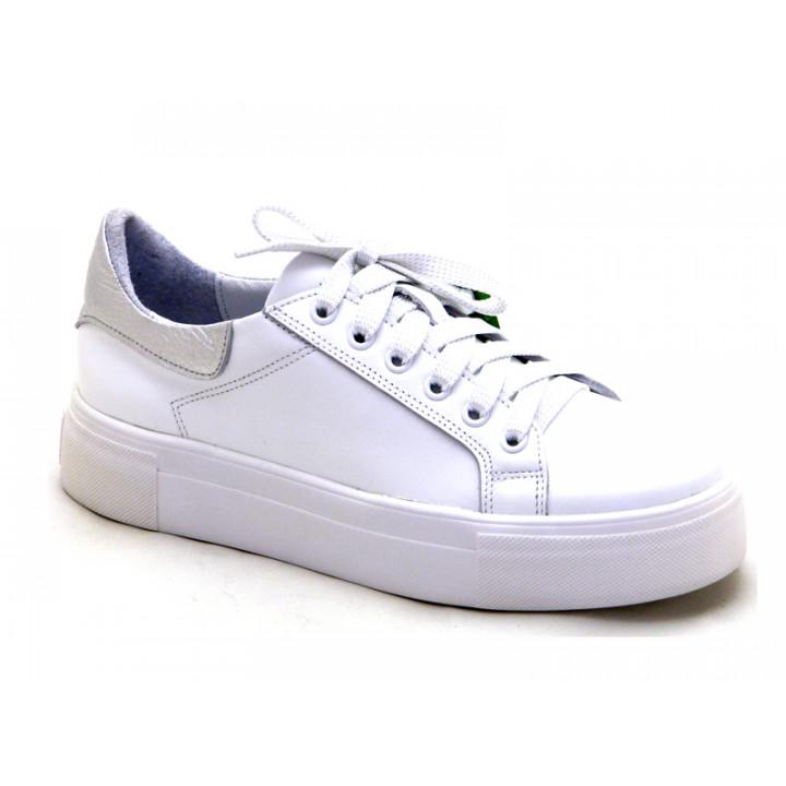 Купити шкіряні кросівки для дівчат Tobi 270-02