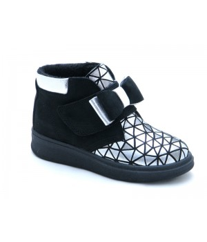Стильные демисезонные ботинки для девочки Tobi 143-04  (27-31р.)