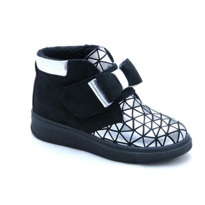 Купити шкіряні демісезонні черевики для дівчат Tobi 143-04