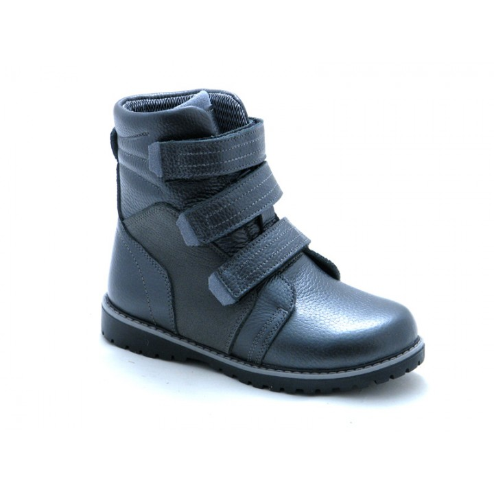 Купить кожаные зимние ортопедические ботинки для ребенка Tobi 282-02 Winterfrost WF800